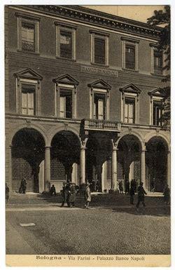 banco di napoli bologna cartoline biblioteca dell archiginnasio