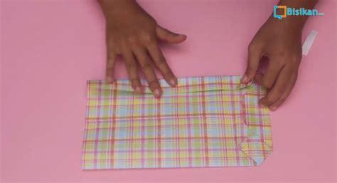 tutorial membungkus kado tanpa dus cara membungkus kado paper bag