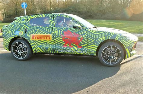 Aston 2020 Strategy by New Aston Martin Dbx Gears Up For Production With Goodwood