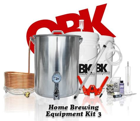deluxe homebrewing equipment kit