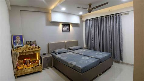 Parents Bedroom Design Interior Flat By Sanket Rudani Interior Designer In Ahmedabad Gujarat India