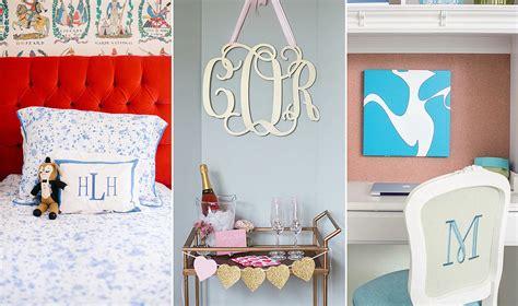monogram home decor monogrammed home decor 2501 latest decoration ideas