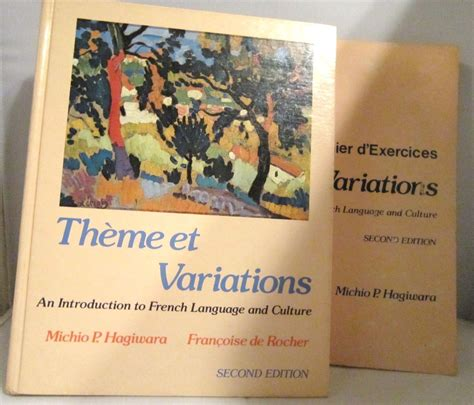 themes et variations london theme et variations 1981 french text and workbook by