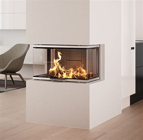 3 Sided Glass Fireplace by 25 Best Ideas About 3 Sided Fireplace On
