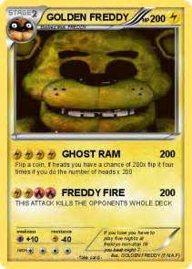 Pok 233 mon golden freddy 97 97 ghost ram my pokemon card