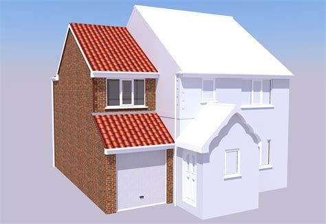 Detached Garage With Loft two storey side extension cramlington ads architectural