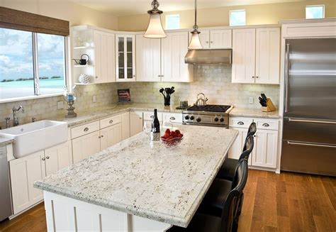 delicatus cream granite kitchen traditional with stainless