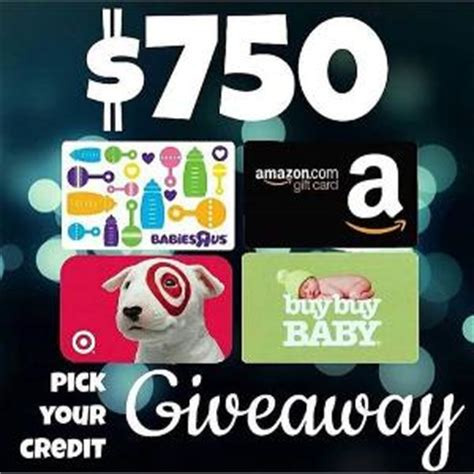 Buy Babies R Us Gift Card Online - contest win a 750 amazon target babies r us or buy buy baby gift card ends