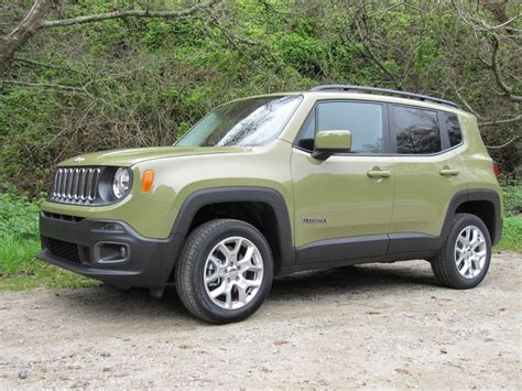 jeep car green 2015 jeep renegade first drive