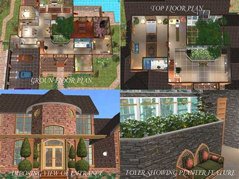 sims 2 house floor plans mod the sims house plan 5 requested