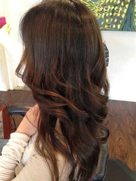 what are lowlights for brunettes brunette highlights brunette lowlights ombre base