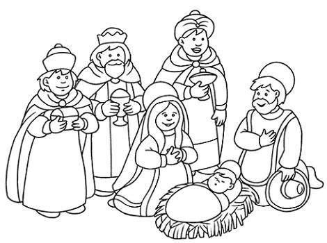 imagenes de los reyes magos para pintar belen para colorear new calendar template site