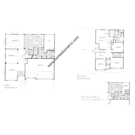 monticello floor plan monticello model in the forest trail subdivision in
