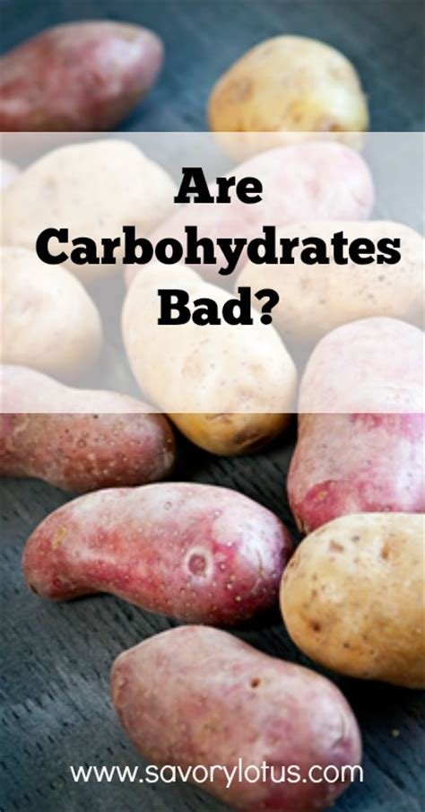 carbohydrates unhealthy are carbohydrates bad savory lotus