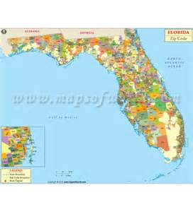 south florida map with zip codes buy florida zip codes map digital and printed fl zip