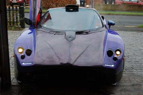 pagani zonda replica made from scrap and powered by audi