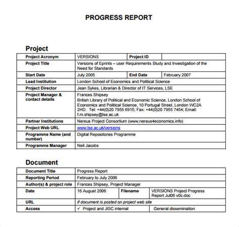layout of a progress report progress report format sle for best free home
