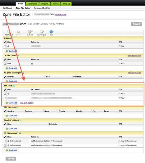 create  spf record  godaddy mail testercom