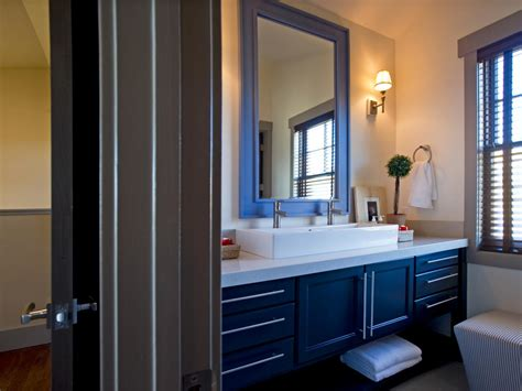 blue bathroom cabinets wood countertop with stainless sink blue bathroom vanities with vessel sink blue