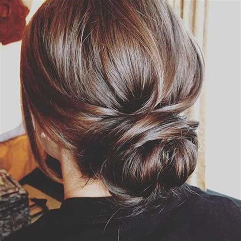 Low Updo Hairstyles by Low Bun Hairstyles For Hairstyles 2017