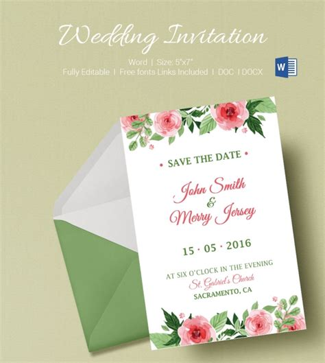 Office Wedding Invitation Templates by 50 Microsoft Invitation Templates Free Sles