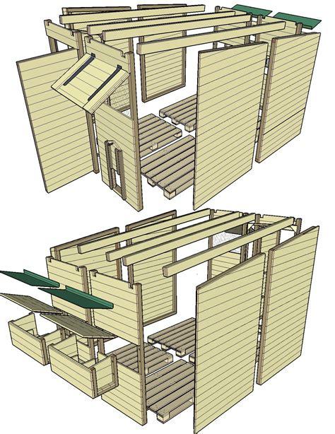 canapé en palette plan plan d ensemble du poulaillier en palettes poulailler