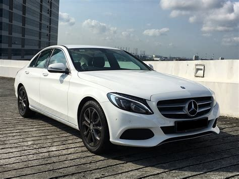 Rent a Mercedes Benz C180 2016 Model by CL Leasing