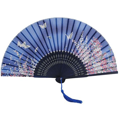 aliexpress com buy buterfly pattern japanese cute fake 1 pcs japan silk dance bamboo folding fan butterfly flower