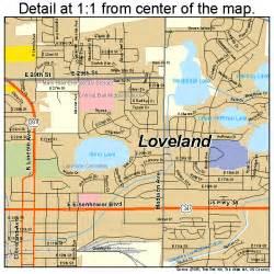 map of loveland colorado loveland colorado map 0846465