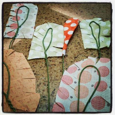 is is diy fabric flower tutorial