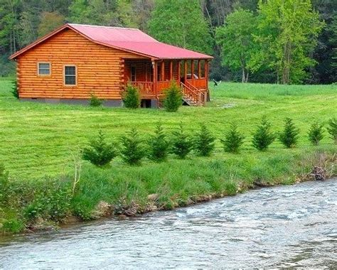 Cabins On River by Vacation Log Cabin On The River Smoky Mountains Getaway