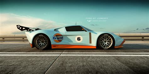 Ford Gt Concepts by Ford Gt Concept By Wizzoo7 On Deviantart