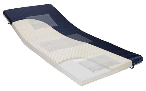 hospital bed mattress topper gel 80 span america