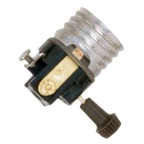 satco 91143 turn knob medium base l holder