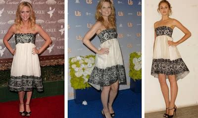 Who Wore Marchesa Better Morrison Or Snow by Mahalo Fashion Marchesa