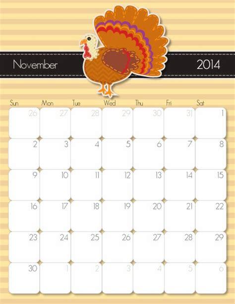 printable planner november 2014 free printable calendar free printable calendar november