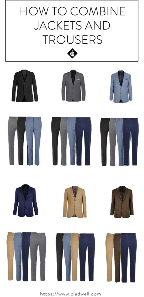 Best Blazer Combined Hitam 1 how to combine jackets and trousers for your capsule