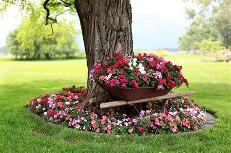 jardines con flores 50 fotos de ideas para decorar 80 im 225 genes de hermosas macetas originales y recicladas