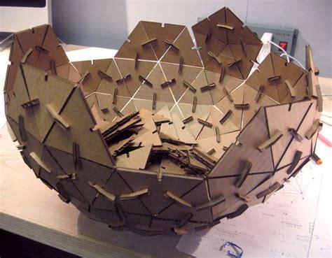 dome haircut esfera geod 233 sica de carton por encaje de presi 243 n se corta