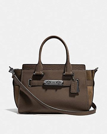 Pre Order Coach Swagger 27 Butterfly Carryall Asli Ori Authentic coach s bags