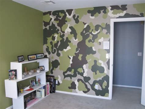 camo bedroom walls the rosenthal project s the camo room