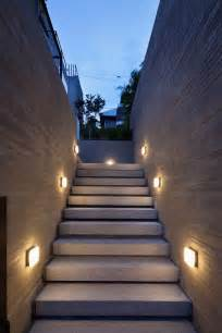 Modern Patio Lighting Square L On Unique Wall Closed Interesting Staircase Fit To Modern Outdoor Lighting