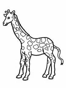 cute giraffe coloring pages getcoloringpages