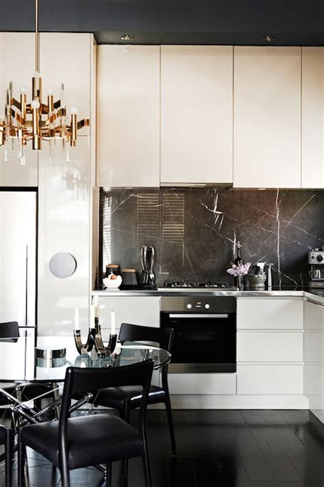 cameron macneil modern off white kitchen design with soft white lacquer kitchen cabinets design ideas