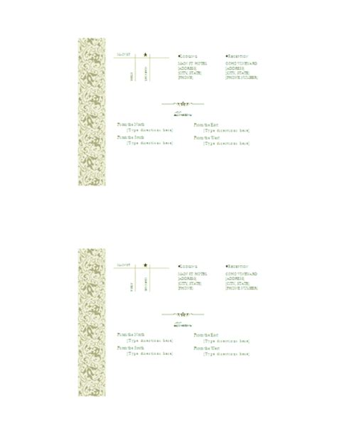 free printable driving directions for invitations download directions free printable invitations for