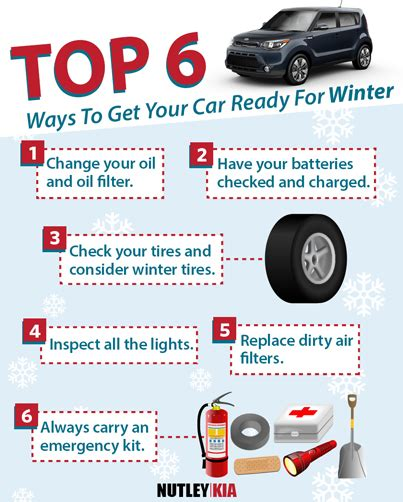 Top 6 Ways to Get Your Car Ready For Winter   Car Tips