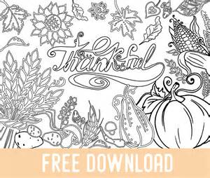 free thanksgiving coloring coloring books