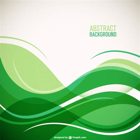 green wallpaper vector free download green waves background vector free download