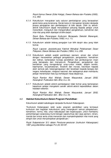 format laporan disiplin murid buku panduan pengurusan aktiviti kokurikulum sekolah