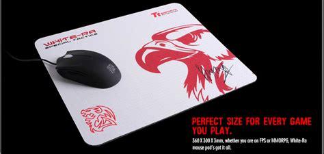 Thermaltake Saphira White thermaltake white ra gaming mousepad black emp0008sms techbuy australia